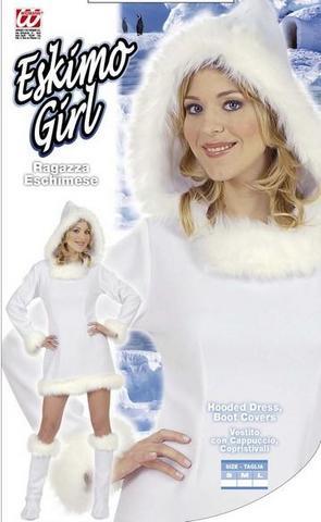 Vestito di carnevale eschimese
