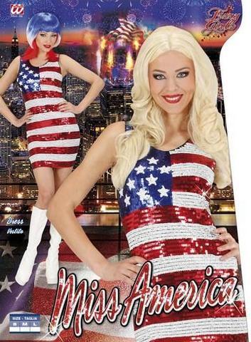 Vestito di carnevale miss america