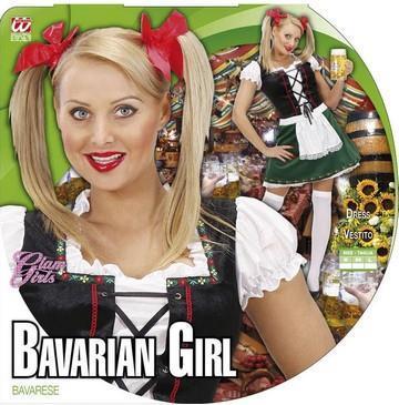 Costume di carnevale cameriera bavarese