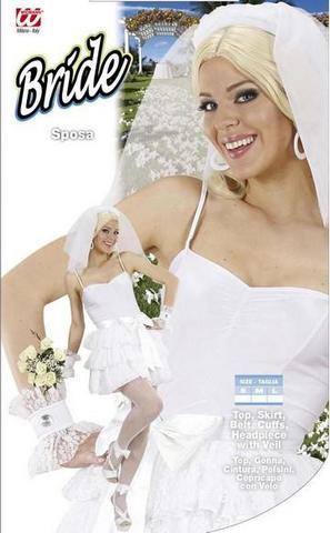 Vestito di carnevale sposa