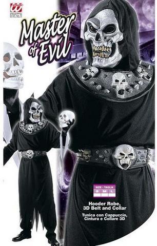 Vestito di carnevale diavolo della morte