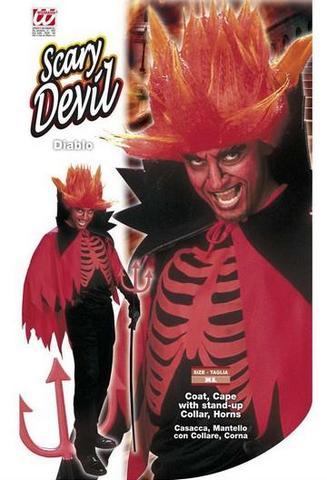 Vestito di carnevale diavolo