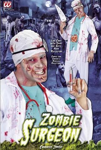 Costume di carnevale dottore zombie