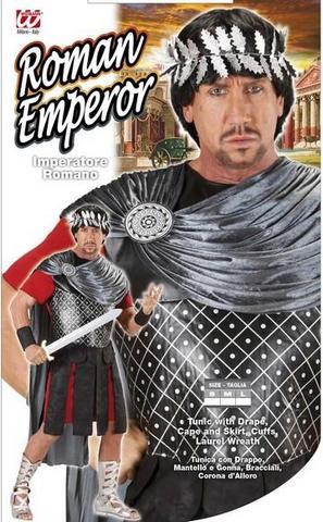 Vestito di carnevale imperatore romano