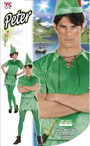 Vestito di carnevale peter-pan