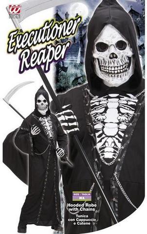 Costume di carnevale scheletro tenebra