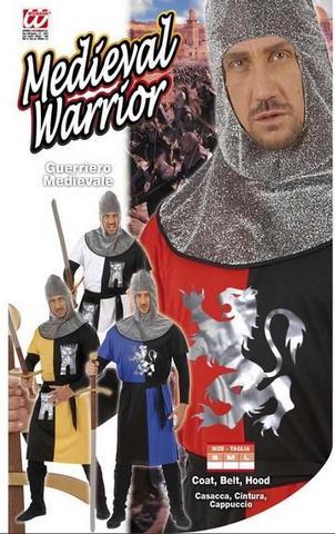 Costume di carnevale cavaliere medioevale
