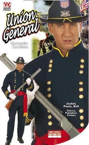 Vestito di carnevale generale nordista