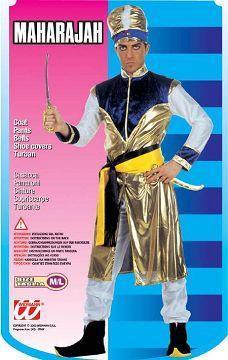 Vestito di carnevale maharajah