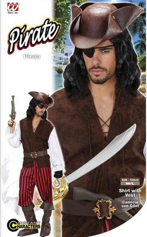 Vestito di carnevale pirata mozzo