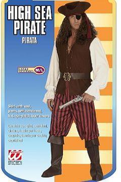 Vestito di carnevale pirata