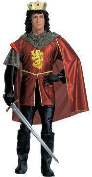 Vestito di carnevale re