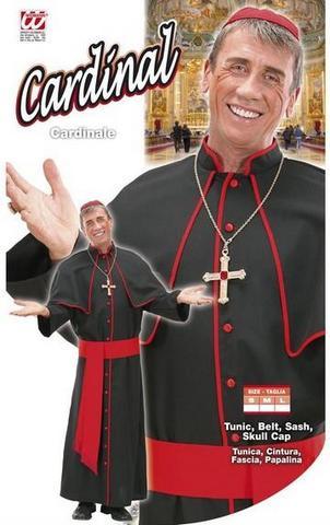 Costume di carnevale cardinale