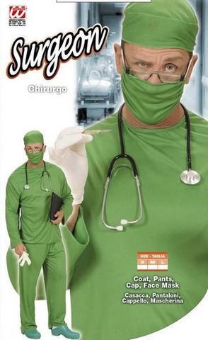 Vestito di carnevale chirurgo