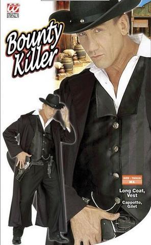 Costume di carnevale killer far-west