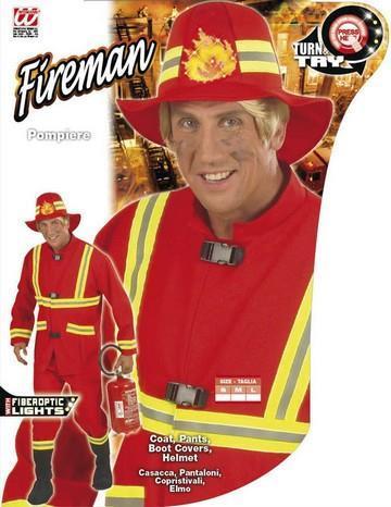 Costume di carnevale pompiere