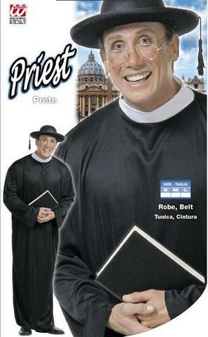 Costume di carnevale prete