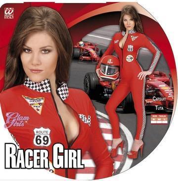 Costume di carnevale pilota formula 1 sexy