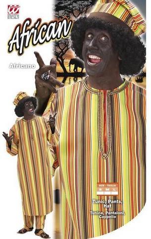 Vestito di carnevale africano