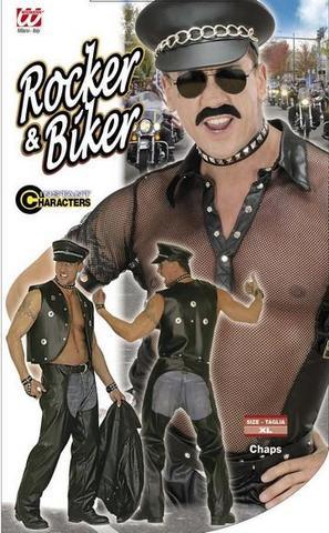 Costume di carnevale biker