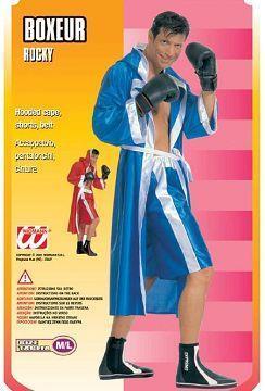 Costume di carnevale boxeur
