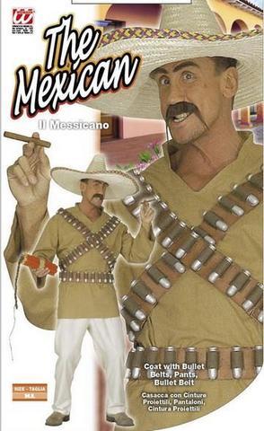 Vestito di carnevale messicano