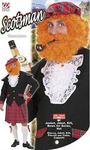 Costume di carnevale scozzese