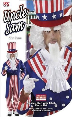 Vestito di carnevale zio sam