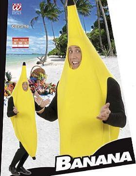 Vestito di carnevale banana peluche