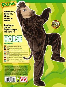 Vestito di carnevale cavallo peluche