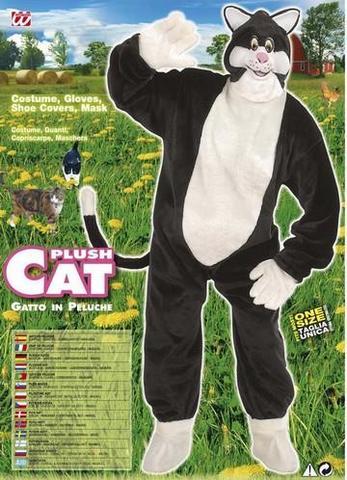 Vestito di carnevale gatto peluche