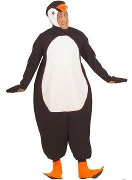 Costume di carnevale pinguino peluche