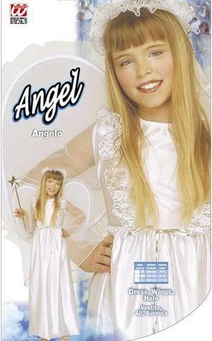 Vestito di carnevale angelo bambino