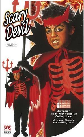 Costume di carnevale diavoletto bambino