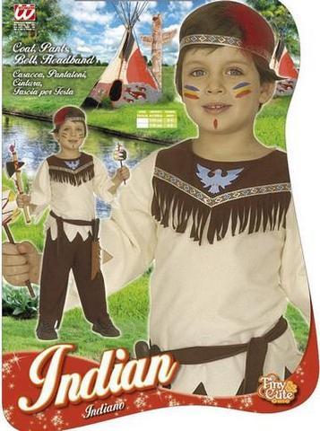 Vestito di carnevale indiano bambino