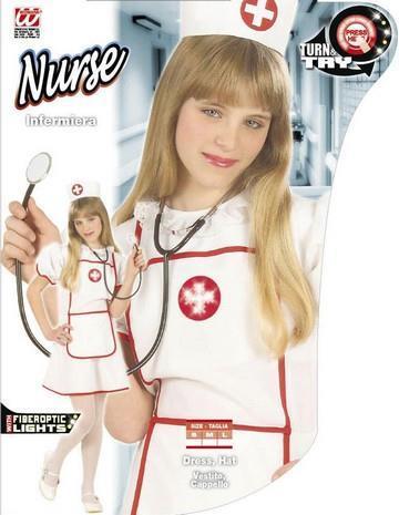 Costume di carnevale infermiera bambino