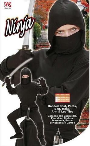 Vestito di carnevale ninja bambino