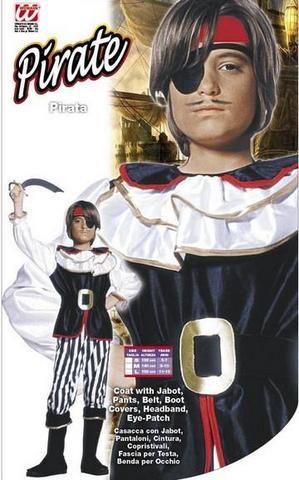 Costume di carnevale pirata bambino