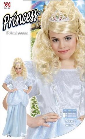 Costume di carnevale principessa bianca bambino