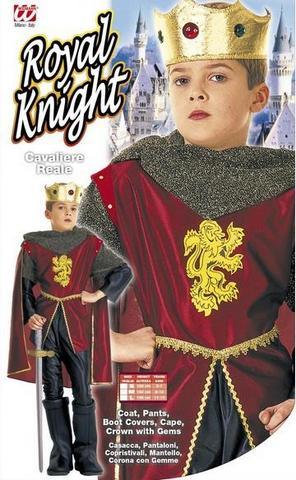 Costume di carnevale re bambino