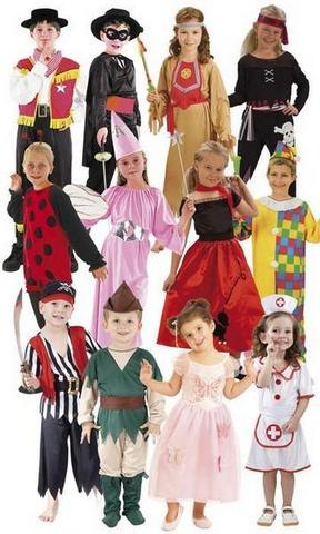 Costumi e vestiti di carnevale bambini