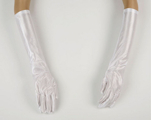Accessori di carnevale guanti lunghi