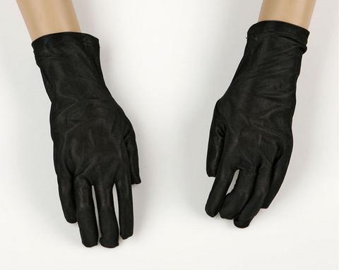 Accessori di carnevale guanti corti