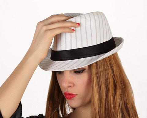Accessori di carnevale cappello gangster