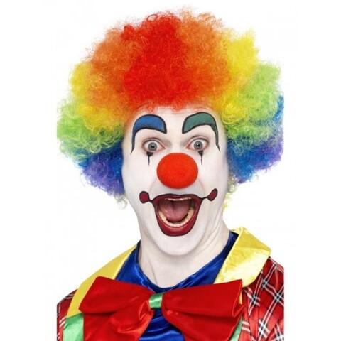 Accessori di carnevale parrucca clown