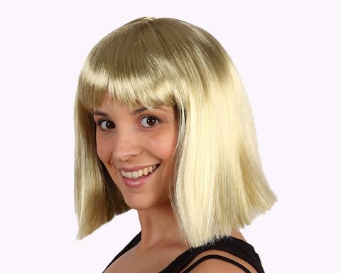 Accessori di carnevale parrucca bionda corta