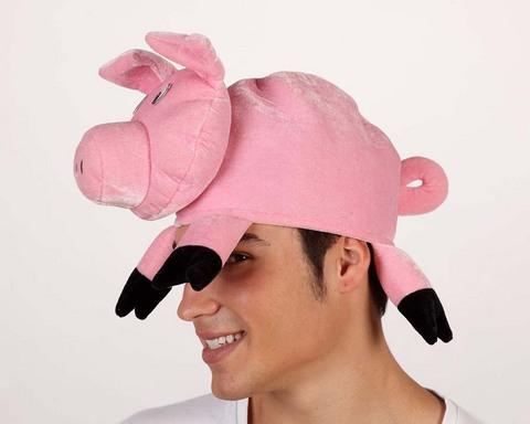 Accessori di carnevale cappello maiale