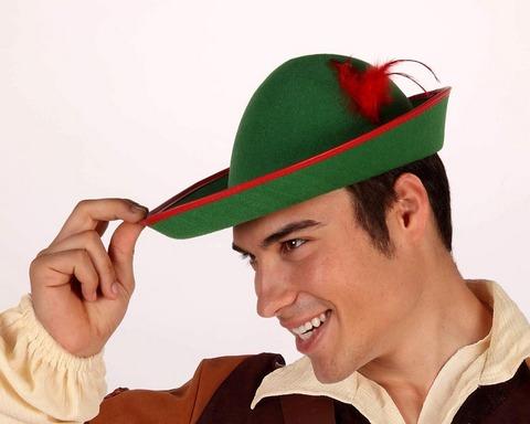 Accessori di carnevale cappello robin-hood
