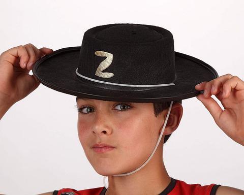 Accessori di carnevale cappello zorro