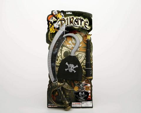 Accessori di carnevale set pirata